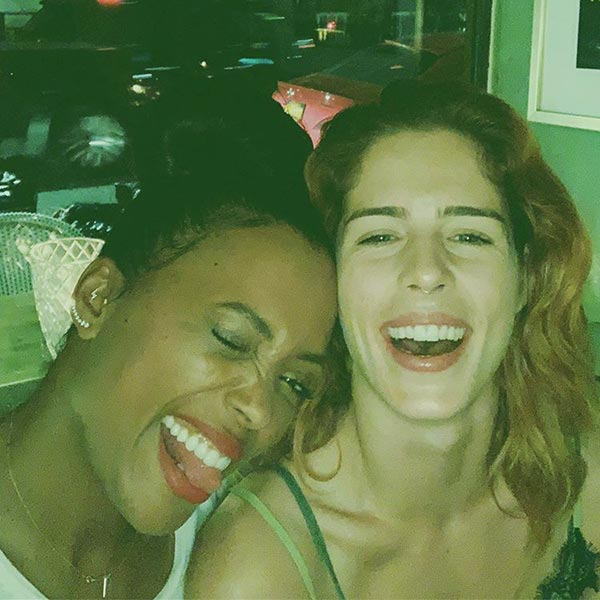 Image of Aisha Tyler is in a relationship with Emily Beth
