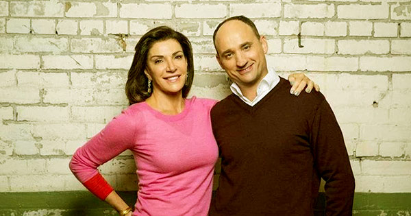 Image of David Visentin and Hilary Farr are the co-host on HGTC's Love It or Live It