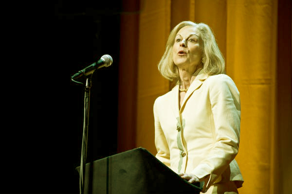 Image of Christie Hefner is the oldest child of Hugh Hefner, born from first wife, Mildred Williams