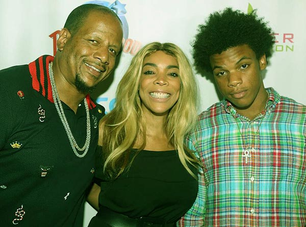 Image of Kevin Hunter and Wendy Williams have a son, Kevin Hunter Jr