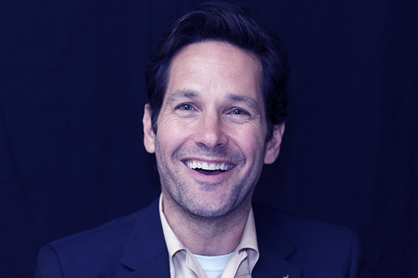 Image of Paul Rudd Is known for playing the lead in The Ant-Man franchise