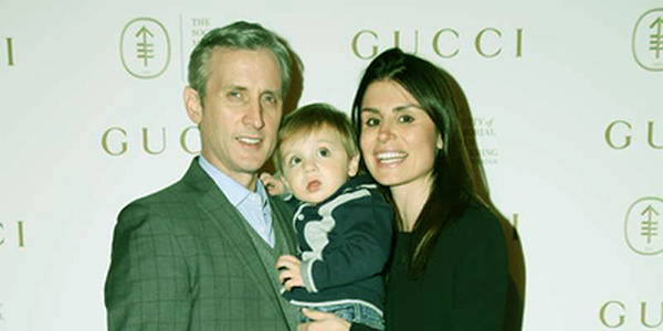 Image of Florinka Pesenti with Partner Dan Abrams and Son