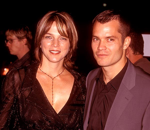 Image of Alexis with Husband Timothy Olyphant