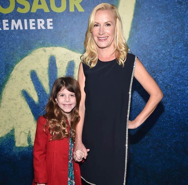 Image of Angela Kinsey with Daughter Isabel Ruby.