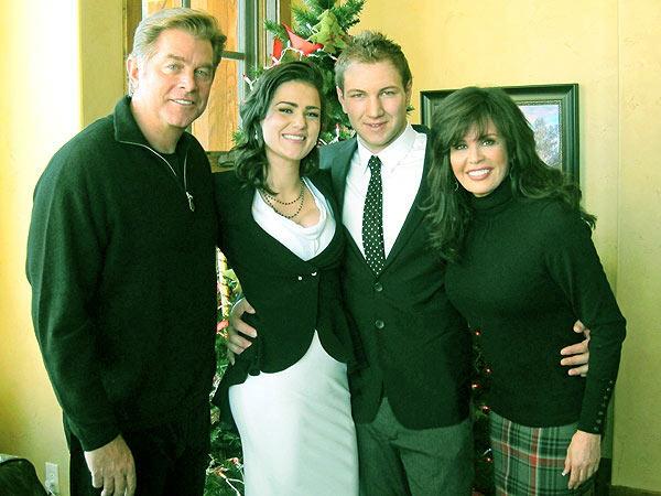 Image of Brain Blosil's daughter, Rachael Lauren Blosil got married to her boyfriend, Gabriel Krueger in 2012