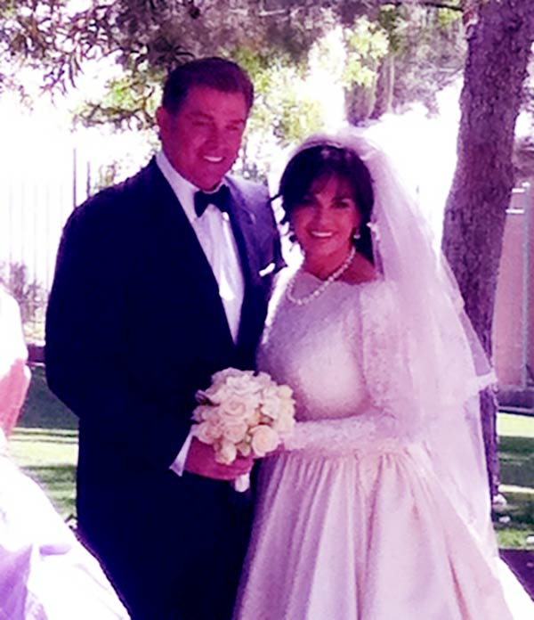 Image of Brian Blosil and Marie Osmond were married until 2007