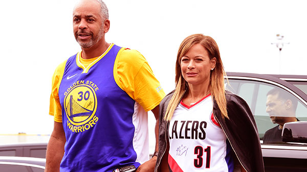 Image of Cleive Ester's daughter Sonya and son-in-law Dell Curry