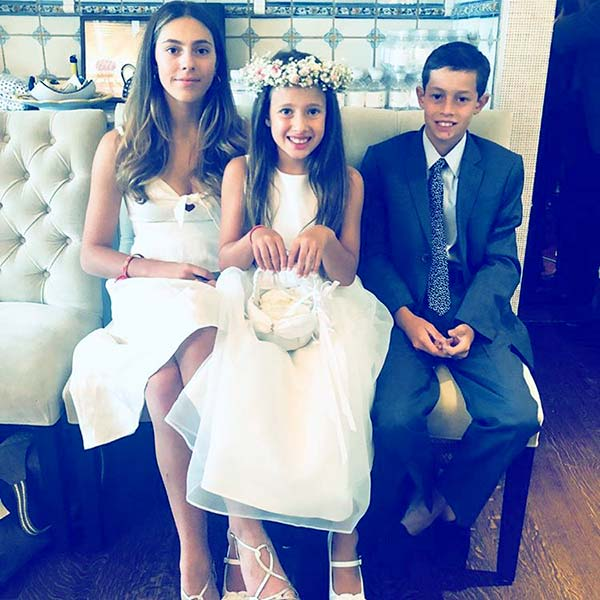 Image of Cristina Greeven and Christopher Cuomo have two daughters and a son