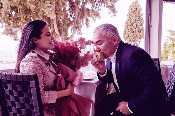 Image of Jahira Dar engaged to Cesar Milan