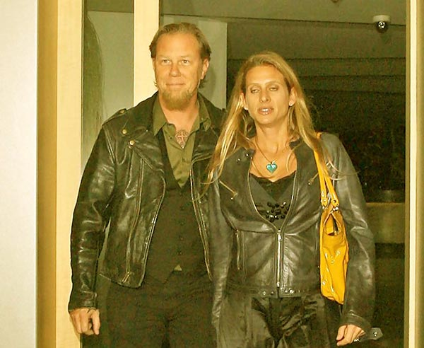 Image of James & Francesca Hetfield's Net Worth