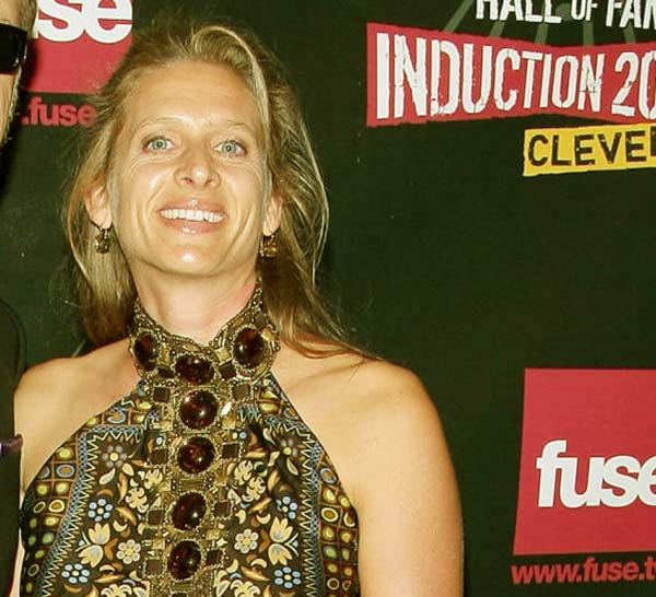 Image of James Hetfield's Wife, Francesca Hetfield