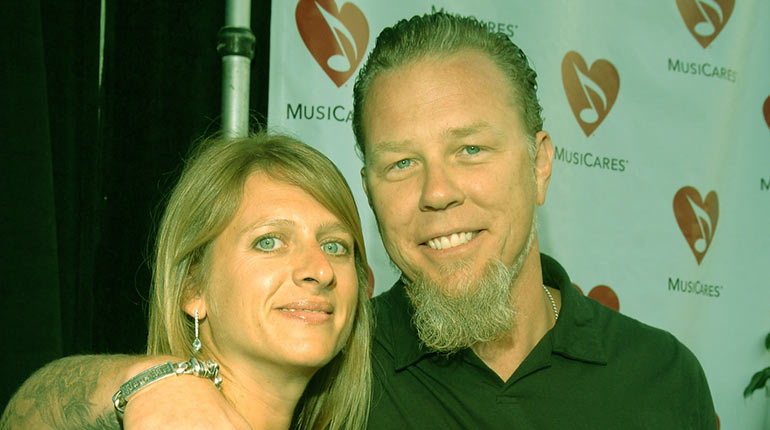 Image of Hidden Truth about Francesca Hetfield- James Hetfield's Wife. Everything You Need to Know