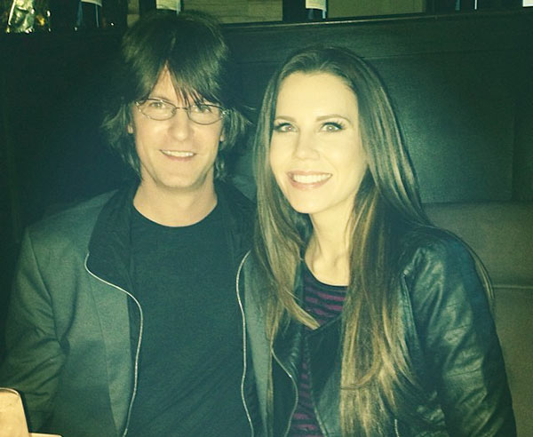 Image of James Westbrook and his wife, Tati celebrating Thanks Giving in 2013