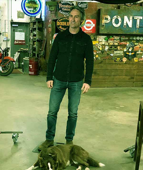 Image of Mike Wolfe is one of the lead cast members of American Pickers