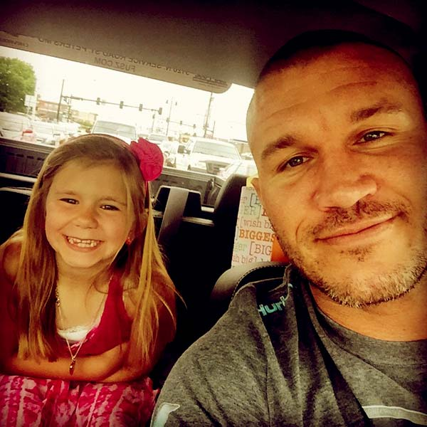 Image of Randy Orton posted a photo of him and his daughter, Alanna Marie Orton on his Instagram on Father's Day