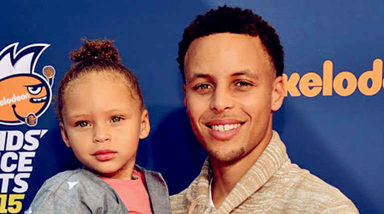 Image of Riley Elizabeth Curry - Interesting Facts About Stephen Curry's Daughter