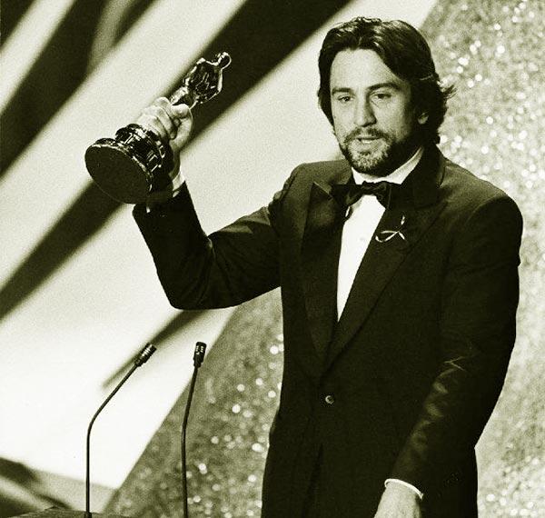 Image of Oscar winning actor, Robert De Niro