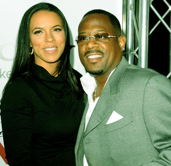 Image of Shamicka Gibbs tied the knot with Martin Lawrence in 2010