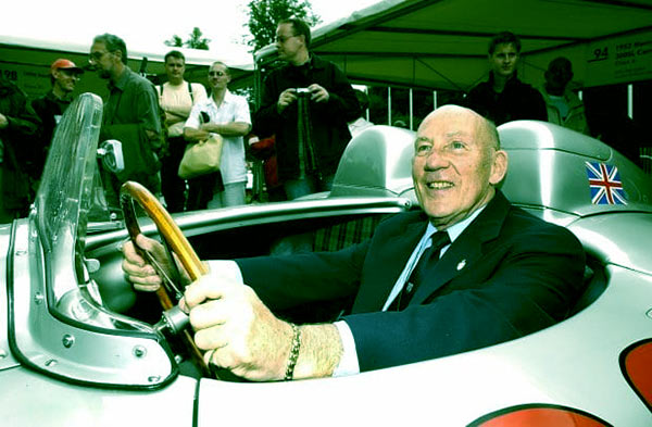 Image of Stirling Moss was the first Brit to win the British GP