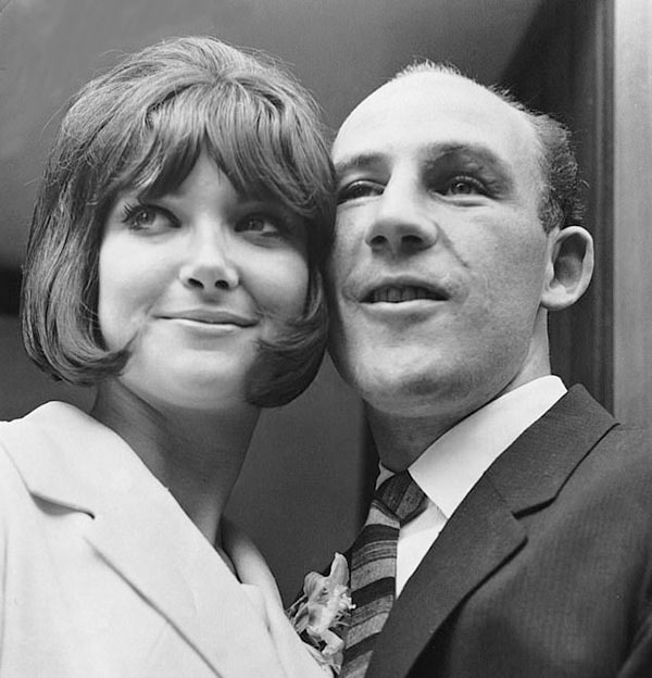 Image of Caption: Moss was married to second wife Elaine Barberino for four years