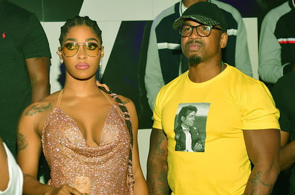 Image of Steven and his ex-wife, Joseline Hernandez