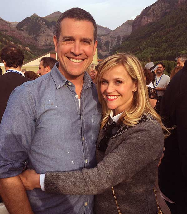 Image of Jim Toth is the second husband of actress Reese Witherspoon