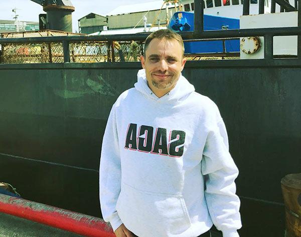 Image of The captain of F/V Saga, Jake Anderson
