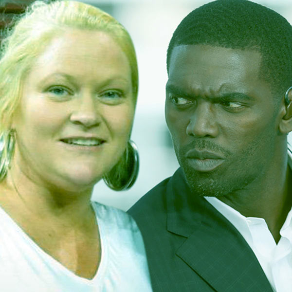 Image of Libby Offutt with her husband, Randy Moss
