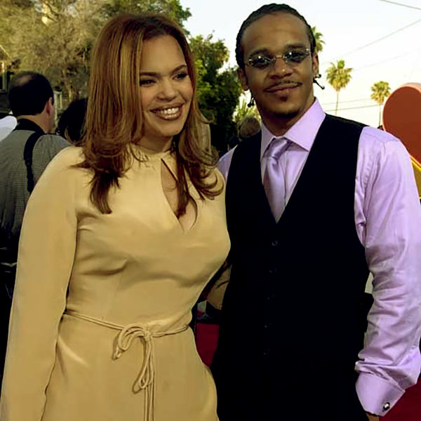 Image of Todd Evans with her ex-wife, Faith Evans