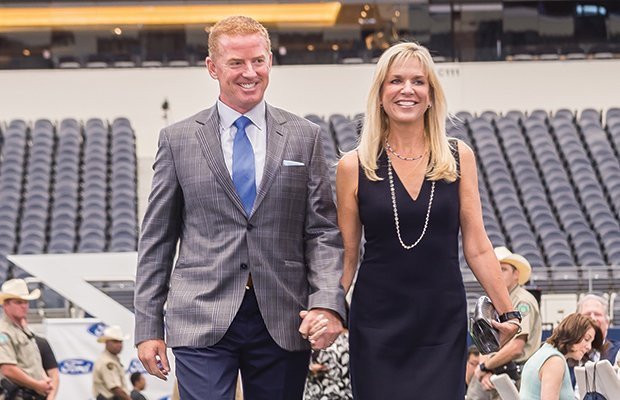 Image of Brill and Jason Garrett got tied the knot after dating for a decade