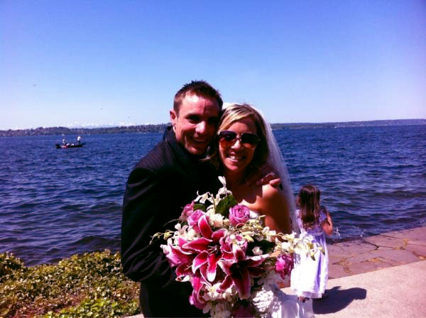 Image of Jake Anderson with his wife, Jenna Patterson