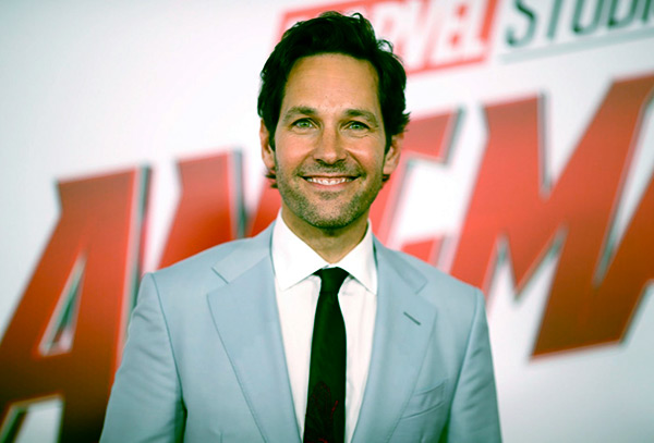 Image of Julie Yaeger's husband, Paul Rudd