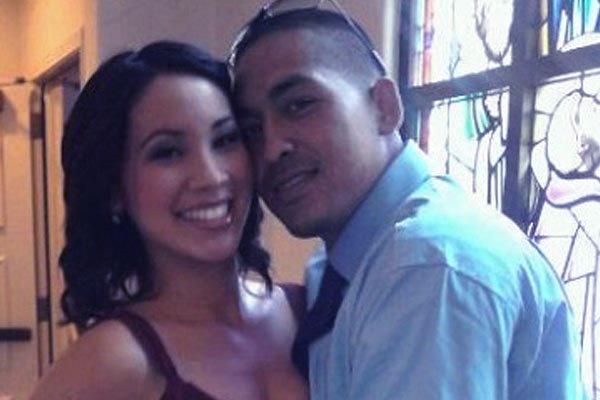 Image of Chris Perez with his ex-wife, Venessa Perez
