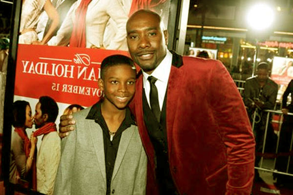 Image of Grant Chestnut with his father Morris Chestnut