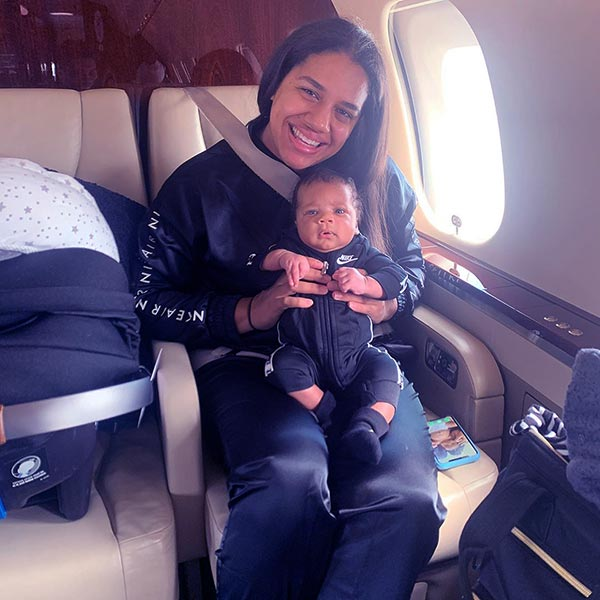 Image of Mariah Riddlesprigger with her son Liam