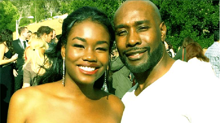 Image of Paige Chestnut, Meet Morris Chestnut's Daughter with Pam Byse.