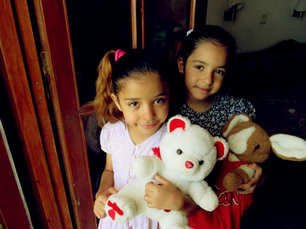 Image of Michael Jordan daughter Ysabel and Victoria Jordan