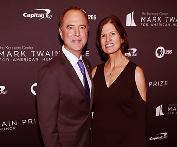 Image of Eve Schiff is the wife of Adam Schiff