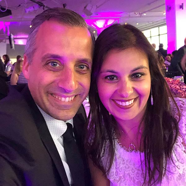 Image of Bessy Gatto and her husband, Joe Gatto attended Animal Haven Gala 2019
