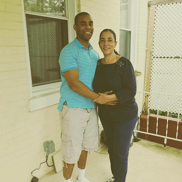 Image of Monica Turner and her son Amir Tyson lived together in Washington