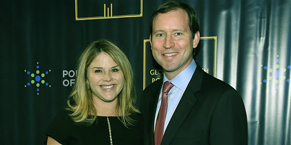 Image of Henry Hager and Jenna Bush Hager have been together for 15 years