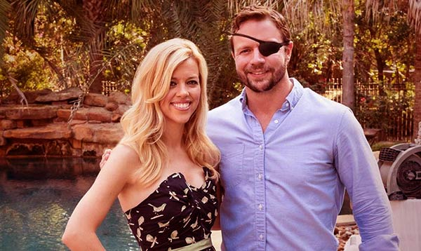 Image of Tara Blake and Dan Crenshaw have been together for a decade