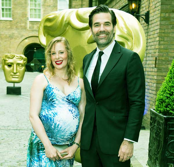 Image of Leah and Rob Delany attended the BAFTA Craft Awards at The Brewery on April 22, 2018, in London