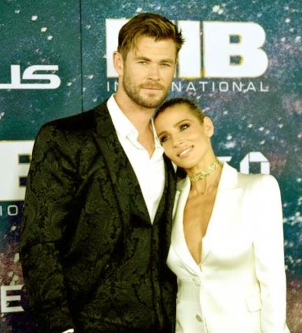Image of Chris Hemsworth and Elsa Pataky got married after three months, they officially announced their relationship
