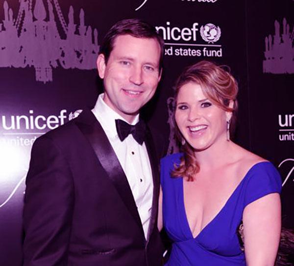 Image of Jenna Bush and her husband, Henry Hager