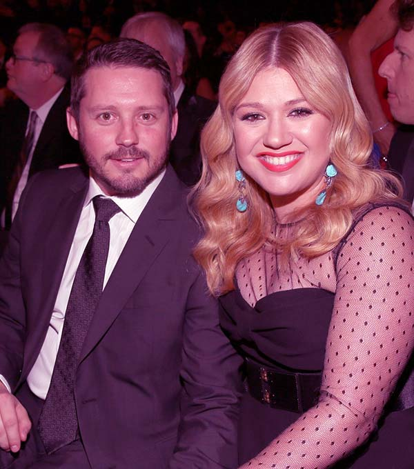 Image of Brandon Blackstock and Kelly Clarkson were engaged in 2012