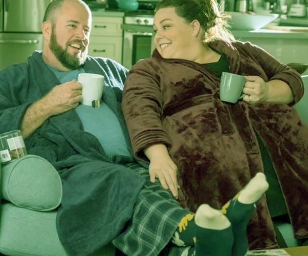 Image of Martyn Eaden with his ex-wife Chrissy Metz