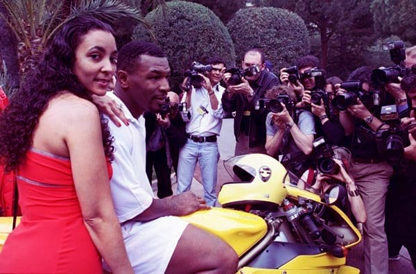 Image of Monica Turner and Mike Tyson were married for four years