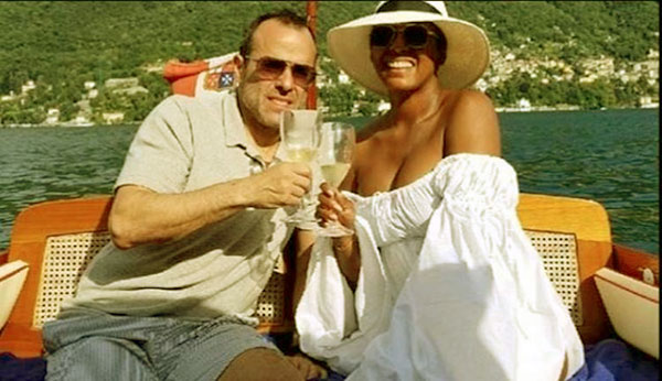 Image of Tamron Hall with her husband, Steven Greener