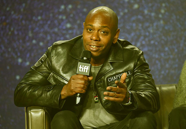 Image of Sonal Chappelle's father, Dave Chappelle